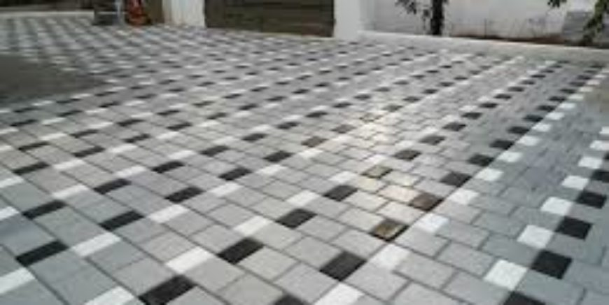 TILES AND INTERLOCK WORK